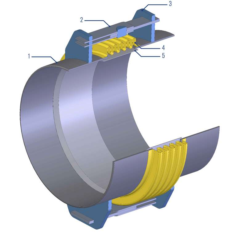 An type expansion joints sealing solutions