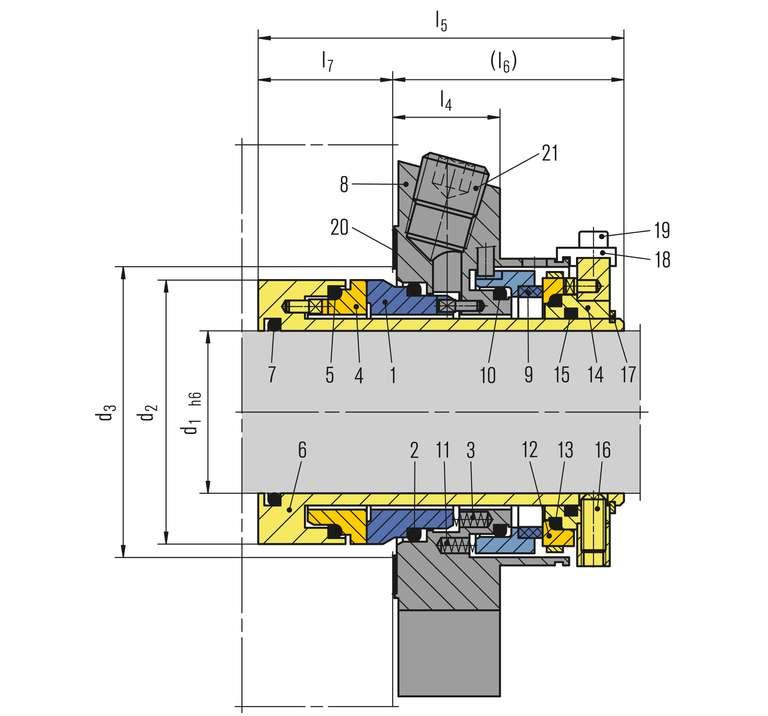 Cartex Dual seals - Sealing Solutions
