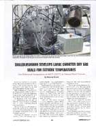EagleBurgmann develops large diameter DGS for extreme temperatures