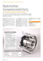Elastomerfreie Kompressorendichtung