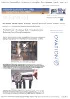 Mechanical seals: considerations for reducing costs and water consumption