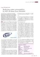 Reducing water consumption by 90 % at Stora Enso Skutskär