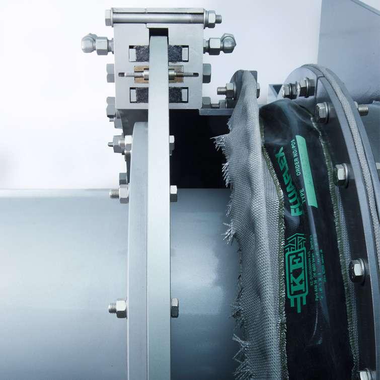 DRO  Rotary kiln sealing system