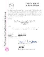 ASME U Designator (Amerikanische Zertifizierung zur Konstruktion, Herstellung und Prüfung von Druckgeräten und druckführenden Komponenten)