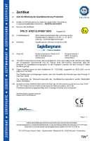 ATEX  2014/34/EU  (Zertifizierung Qualitätssicherung Produktion)