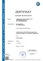 DIN EN ISO 3834-2 (Zertifizierung Schweißen)