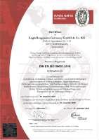 DIN EN ISO 50001:2011 (Zertifizierung Energiemanagementsystem)
