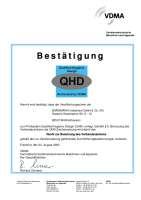Qualified Hygienic Design (Recht zur Benutzung des Verbandszeichens gem. §5)
