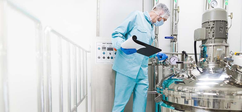 Lösungen für die Pharma-Industrie