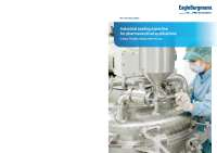 Brochure Industrial sealing expertise for pharmaceutical applications