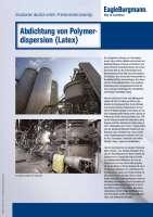 Solution: Abdichtung von Polymerdispersion (Latex)
