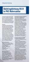 Solution: Gleitringdichtung HS-D in PVC Rührreaktor