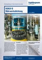 Solution: Gleitringdichtung HSHLV-D in Polymerdispersionsanlage