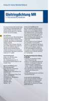 Solution: Gleitringdichtung MR in Polymerisations-Reaktoren