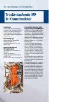 Solution: Trockenlaufende Rührwerksdichtung MR in Konustrockner