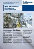 Solution: DF-MFLWTI DiamondFace® Gleitringdichtung für Raffineriepumpen
