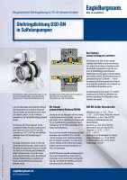 Solution: Gleitringdichtung GSO-DN in Sulfolanpumpen