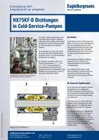 Solution: Gleitringdichtungen HX75KF-D in Cold-Service-Pumpen