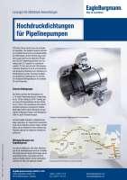 Solution: Hochdruckdichtungen für ESPO Pipelinepumpen