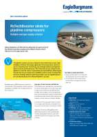 Solution: RoTechBooster skids for pipeline compressors