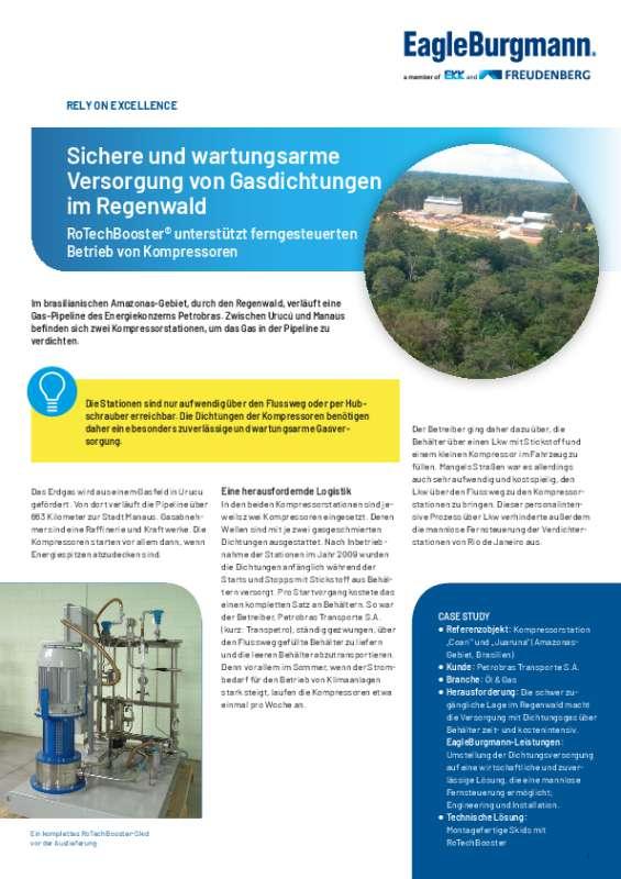 Solution: RoTechBooster Coari Kompressorstation Brasilien