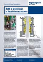 Solution: Gleitringdichtungen HSHL-D in Reduktionsautoklaven