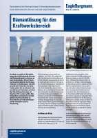 Solution: Diamantlösung für den Kraftwerksbereich