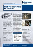 Solution: BestFlow control valve for dual seals