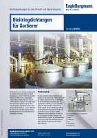Solution: Gleitringdichtungen für Sortierer in der Zellstoff- und Papierindustrie