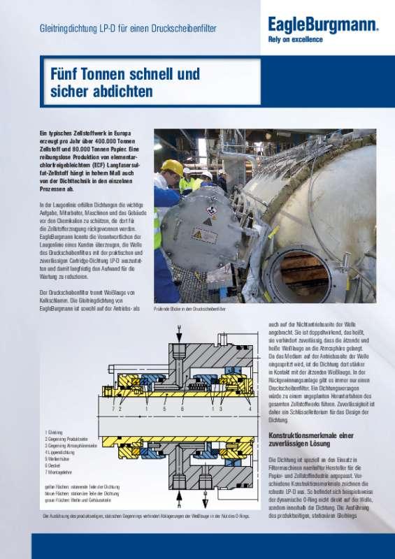 Solution: LP-D Druckscheibenfilter