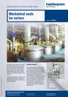 Solution: Mechanical seals for sorters in the pulp & paper industry