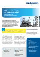 Solution: NMB magnetic coupling for hydrocarbon pumps