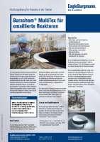 Solution: Burachem® MultiTex für emaillierte Reaktoren