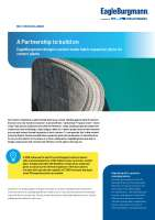 Solution: EagleBurgmann designs custom-made fabric expansion joints for cement plants