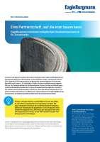 Solution: EagleBurgmann entwickelt maßgefertigte Gewebekompensatoren für Zementwerke